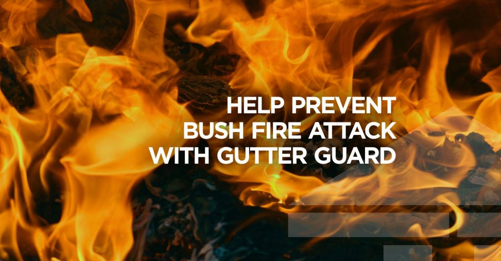 GRD gutter cleaning bushfire gutter guard